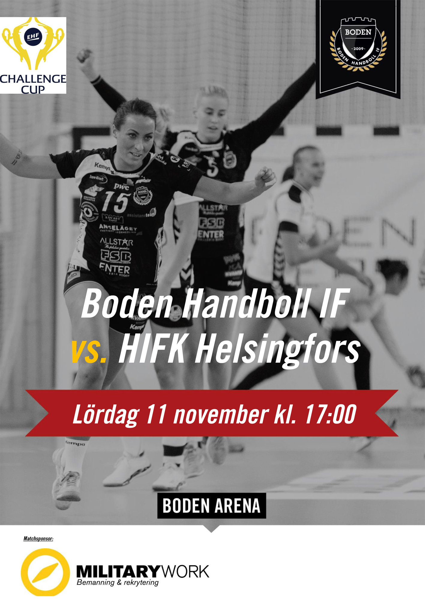 Dags för match i Challenge Cup
